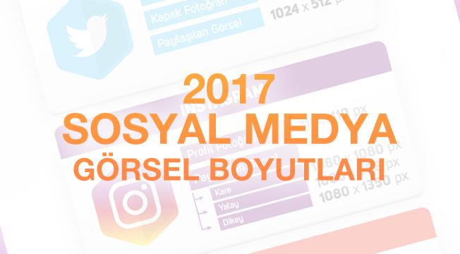 2017 Sosyal Medya Görsel Boyutları - Nisan 2017