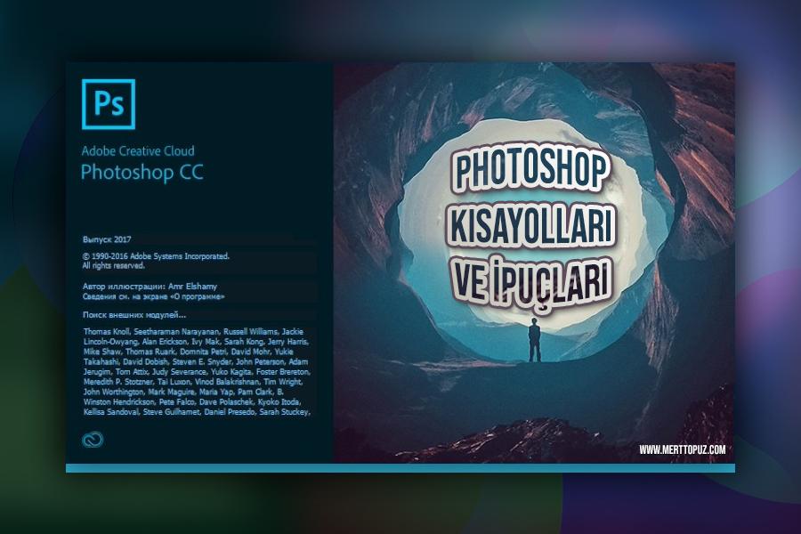 Photoshop Kısayolları ve İpuçları