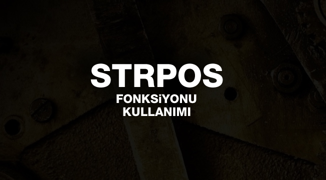 PHP strpos() Fonksiyonu Kullanımı